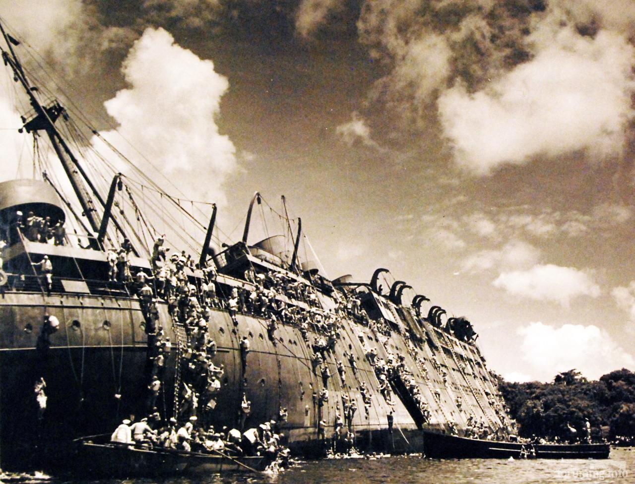 125853 - Военное фото 1941-1945 г.г. Тихий океан.