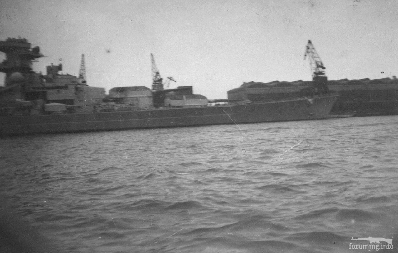 126527 - Линкор Tirpitz в Готенхафене, весна 1941 г.