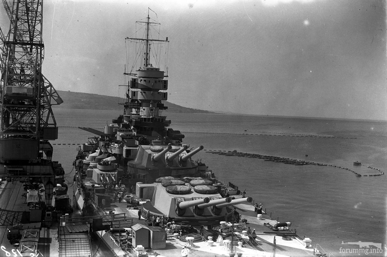 127055 - Regia Marina - Italian Battleships Littorio Class и другие...