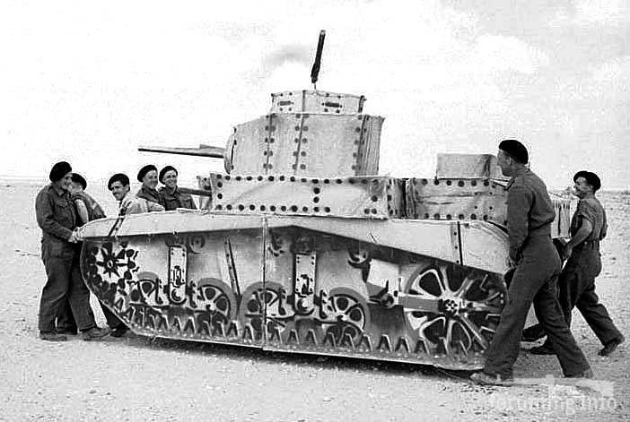 127292 - Военное фото 1939-1945 г.г. Западный фронт и Африка.