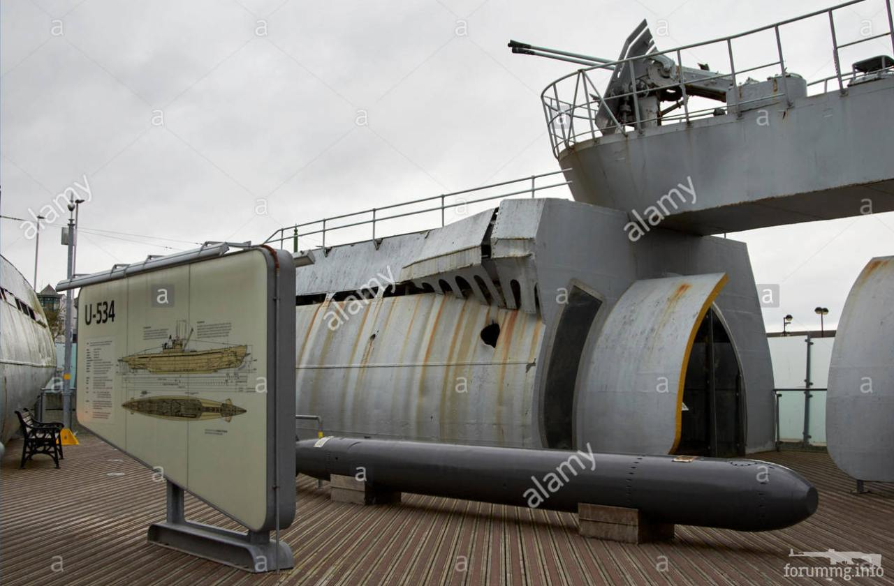 127359 - Как сделать музей с U-534