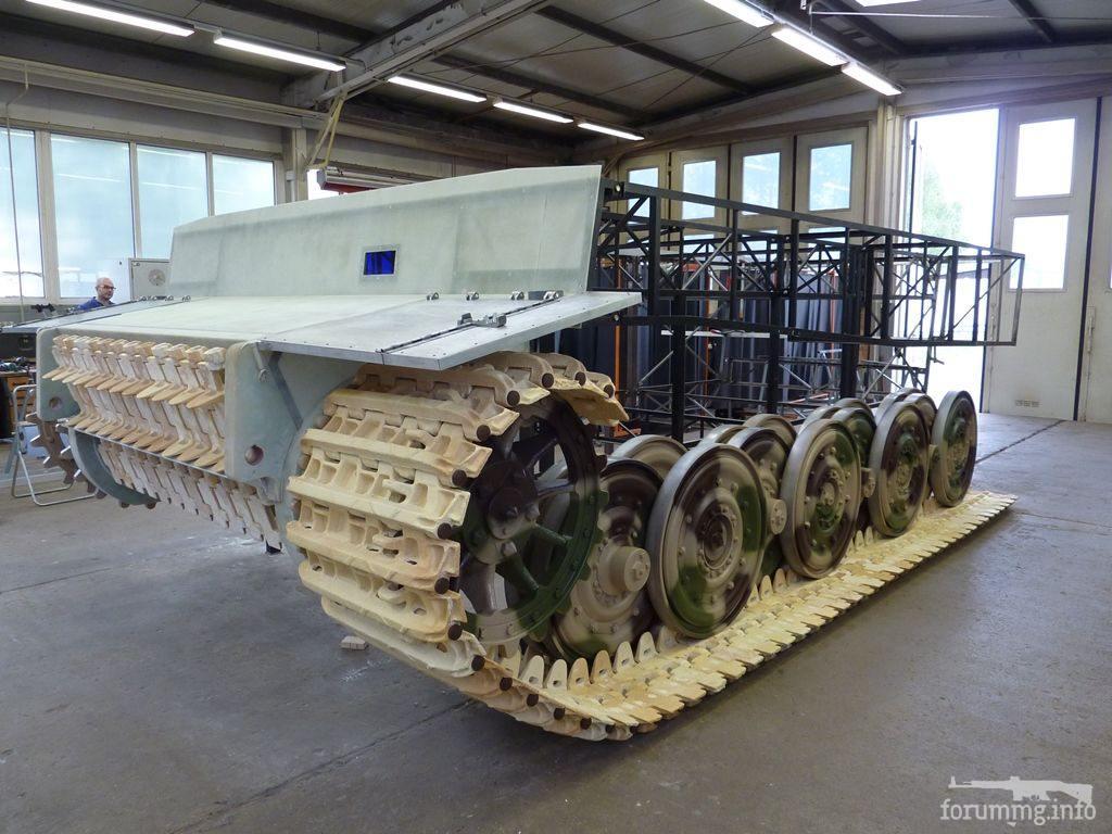 127557 - Деревянный танк