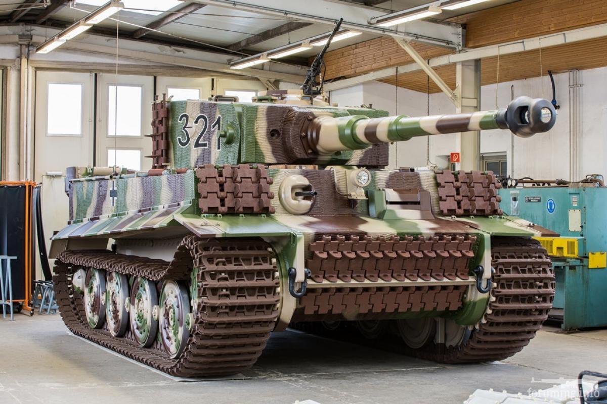 127579 - Деревянный танк