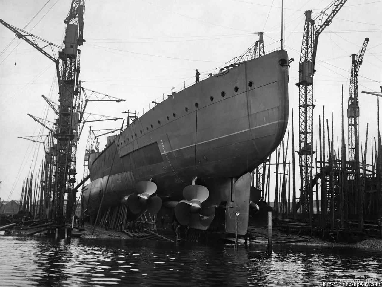 127590 - Броненосцы, дредноуты, линкоры и крейсера Британии