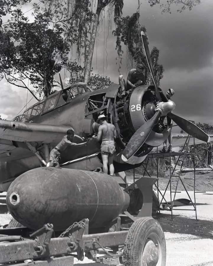 127846 - Военное фото 1941-1945 г.г. Тихий океан.