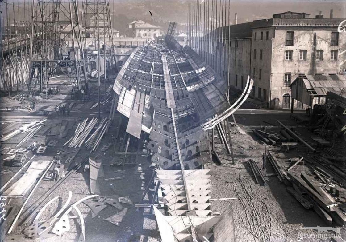 127872 - Regia Marina - Italian Battleships Littorio Class и другие...