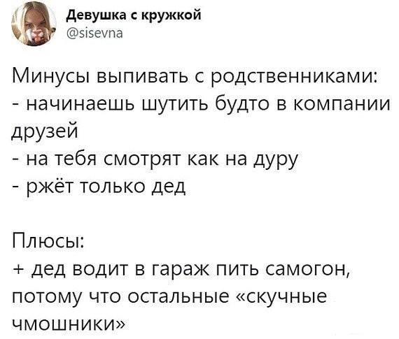128189 - Пить или не пить? - пятничная алкогольная тема )))