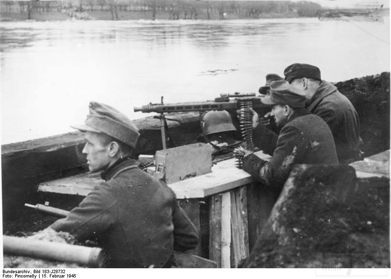 12820 - MG-42 Hitlersäge (Пила Гитлера) - история, послевоенные модификации, клейма...