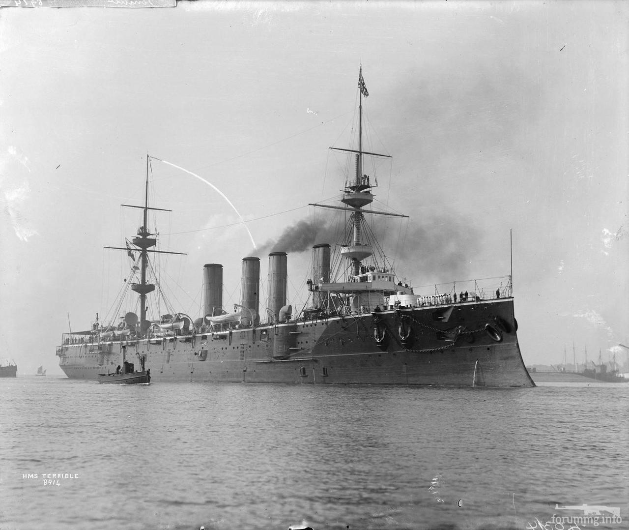 128226 - Бронепалубный крейсер HMS Terrible
