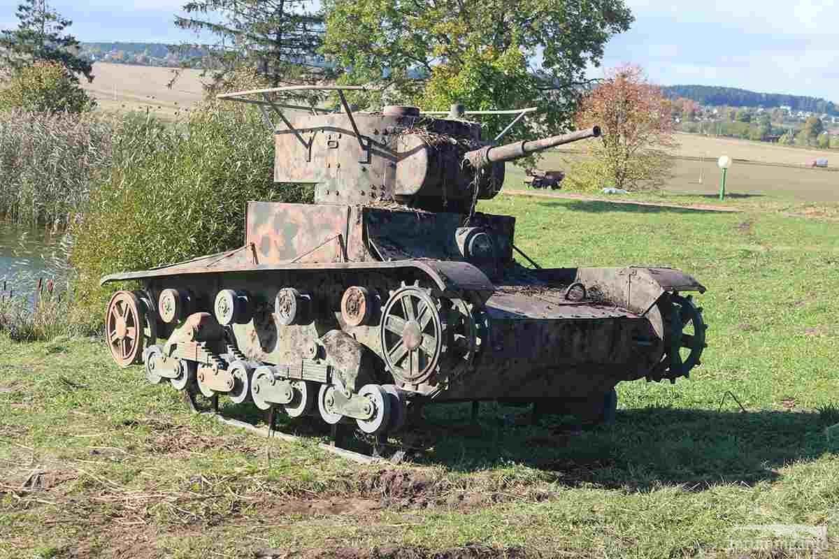 128536 - Деревянный танк