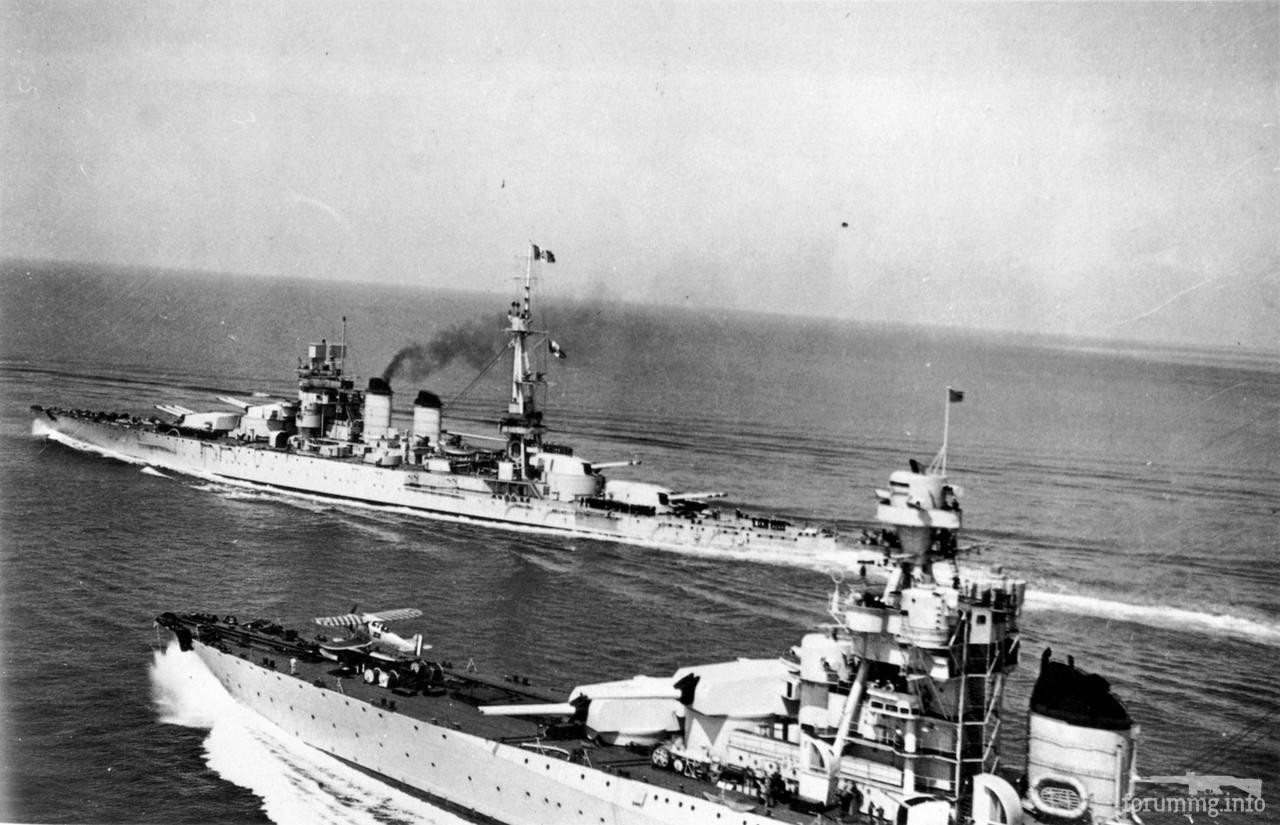 128854 - Regia Marina - Italian Battleships Littorio Class и другие...