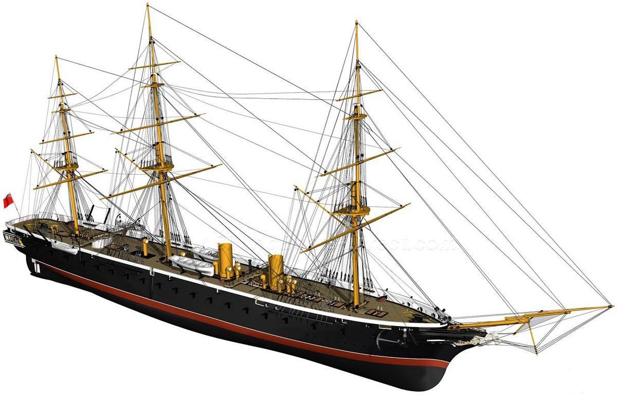 129118 - Броненосцы, дредноуты, линкоры и крейсера Британии