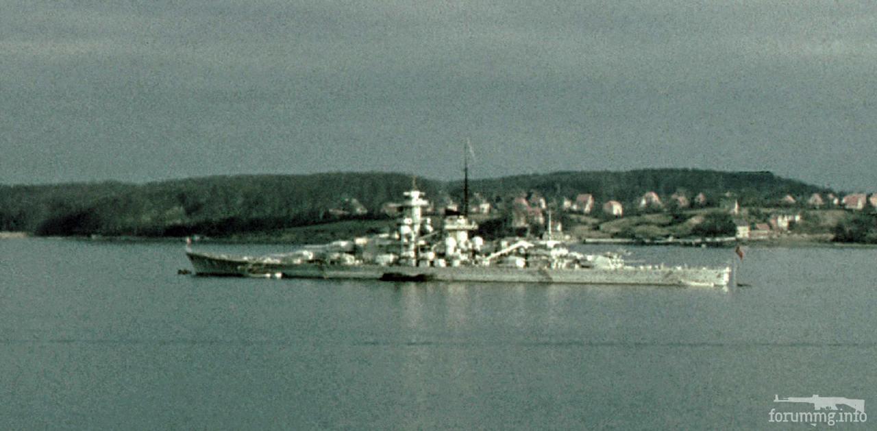 129591 - Линкор Gneisenau в Киле, 1939 г.