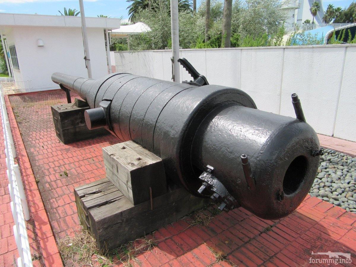 129734 - Корабельные пушки-монстры в музеях и во дворах...