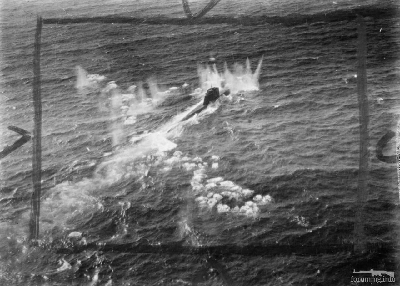 129915 - Действия немецких подлодок в Атлантике
