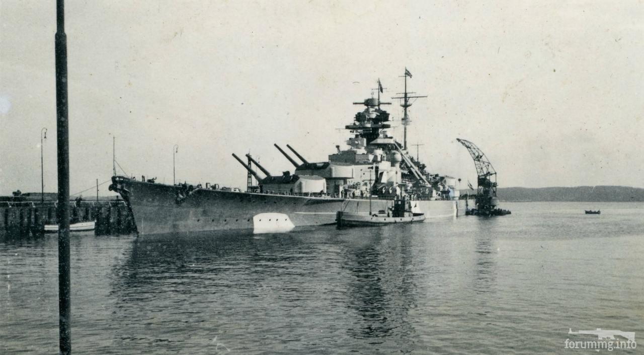 131438 - Линкор Bismarck, 16 марта 1941 г.