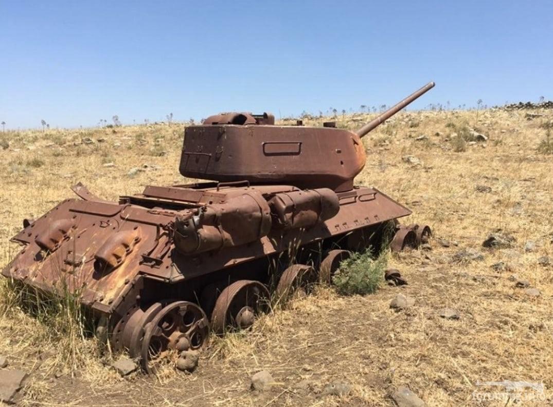 131469 - Послевоенное использование советской бронетехники WW2