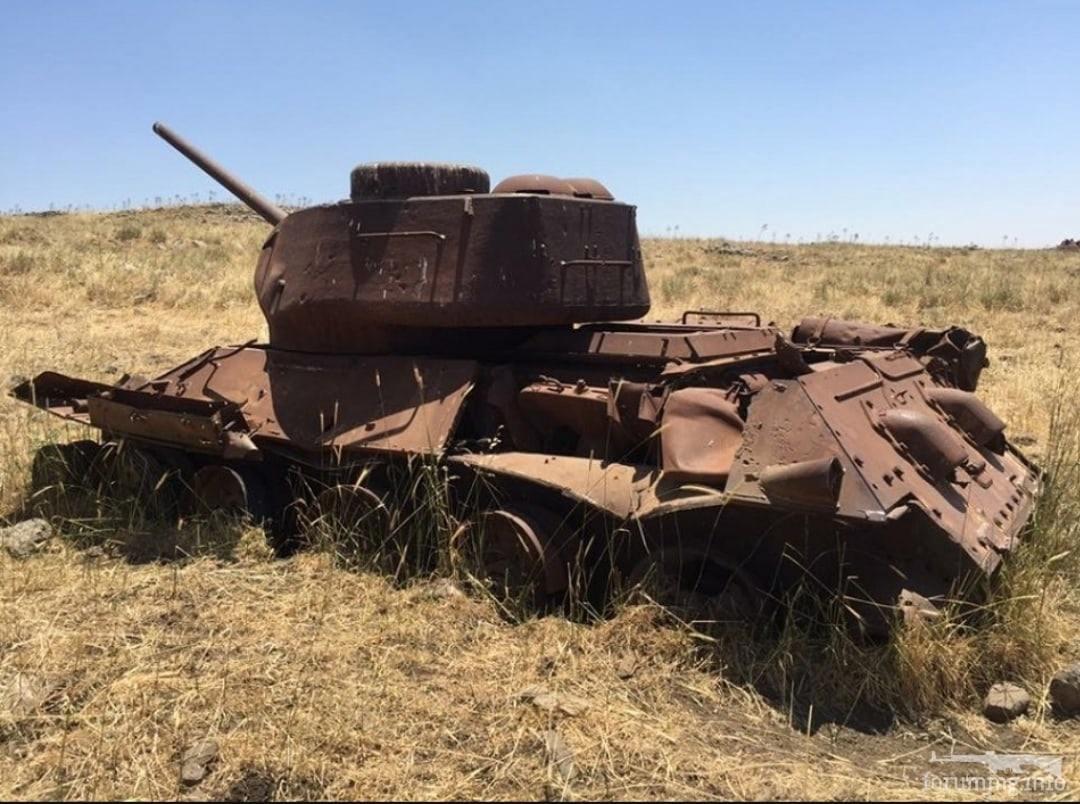 131470 - Послевоенное использование советской бронетехники WW2
