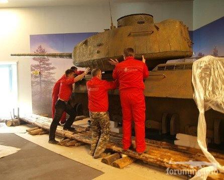 131569 - Деревянный танк