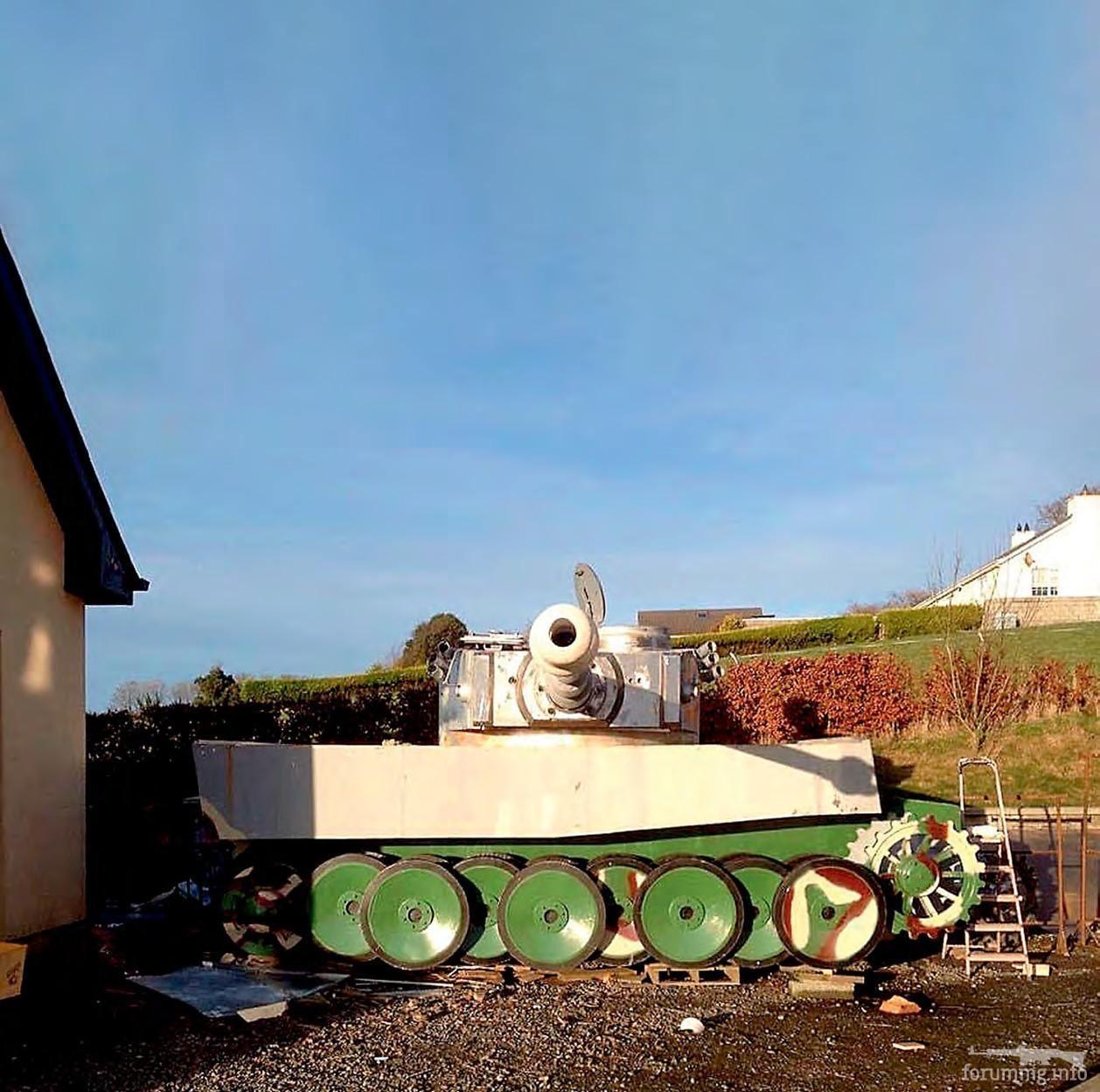 131691 - Деревянный танк