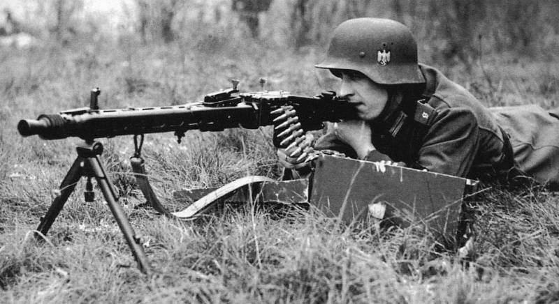 1317 - MG-42 Hitlersäge (Пила Гитлера) - история, послевоенные модификации, клейма...