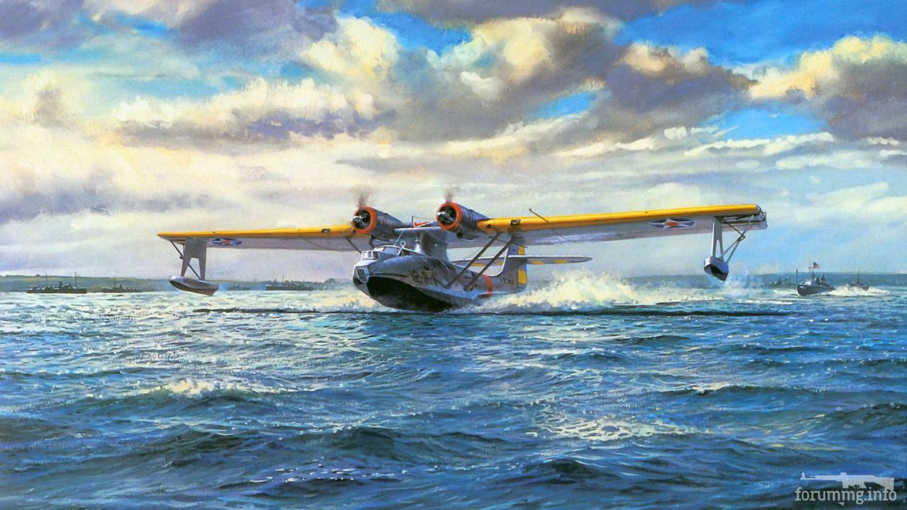 132112 - Художественные картины на авиационную тематику
