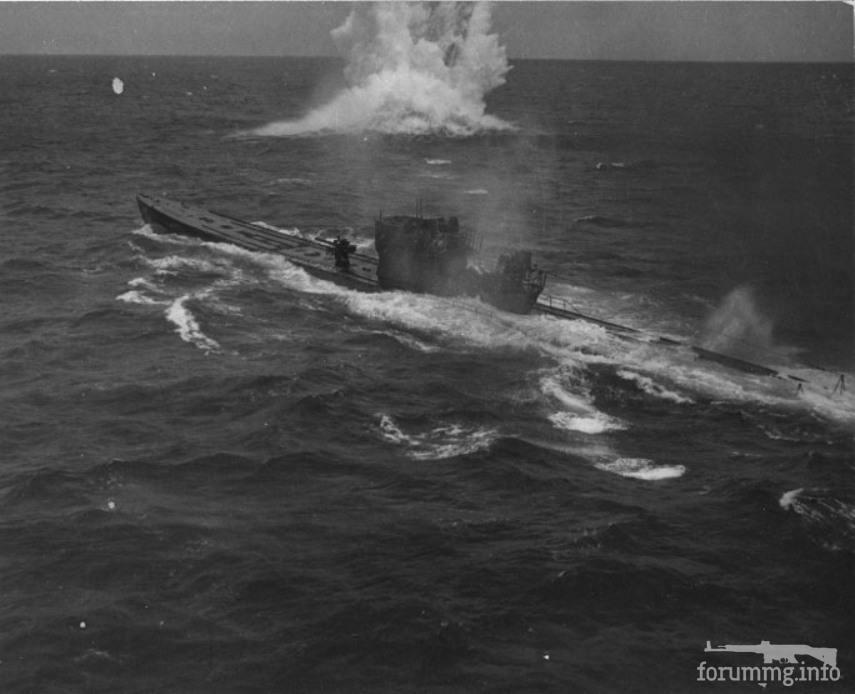 132295 - Уничтожение U-848, 05 ноября 1943 г.