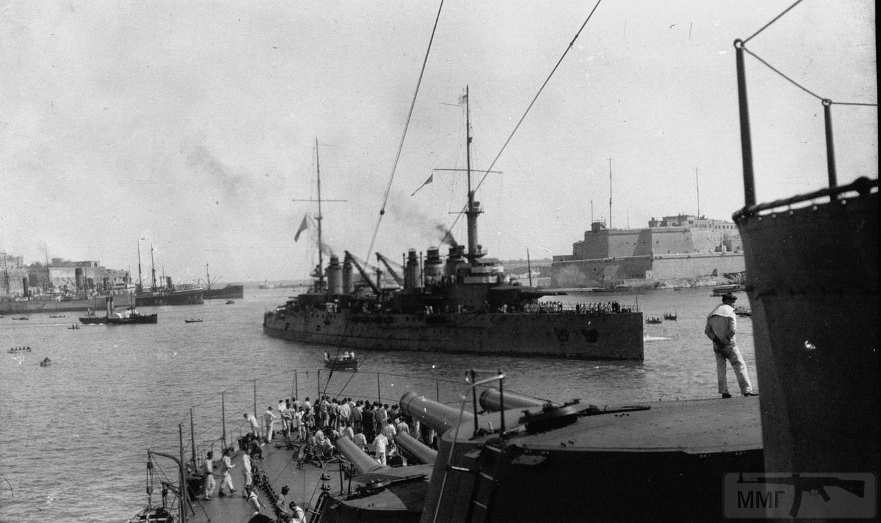 "13266 - Броненосец ""Дантон"" на о.Корфу, 1915-16 г."