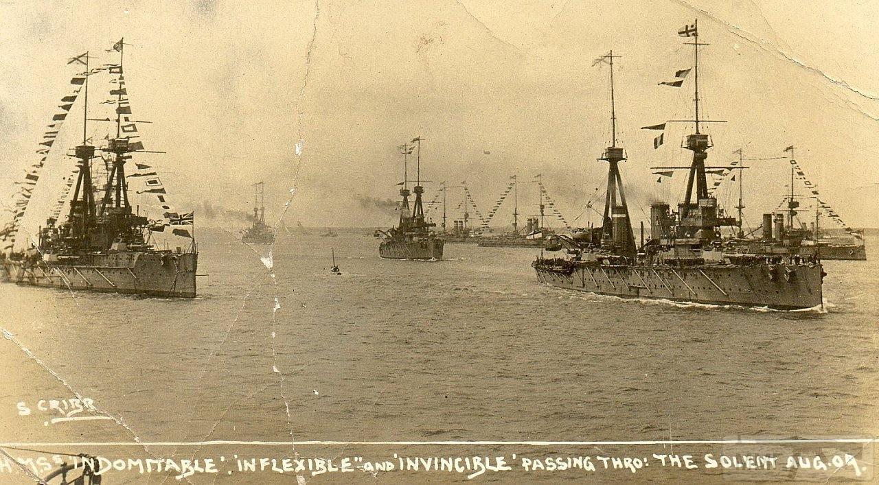 13282 - Броненосцы, дредноуты, линкоры и крейсера Британии