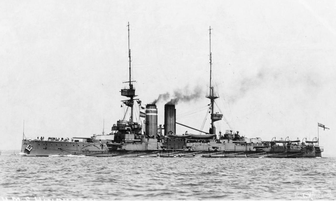 132969 - Броненосцы, дредноуты, линкоры и крейсера Британии
