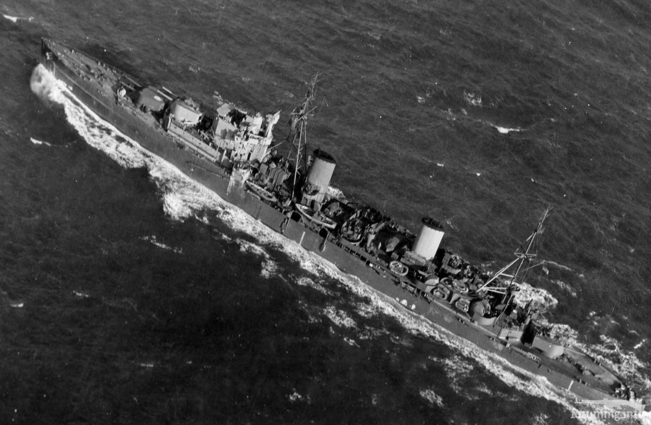 133154 - Легкий крейсер HMS Arethusa, 11 декабря 1943 г.
