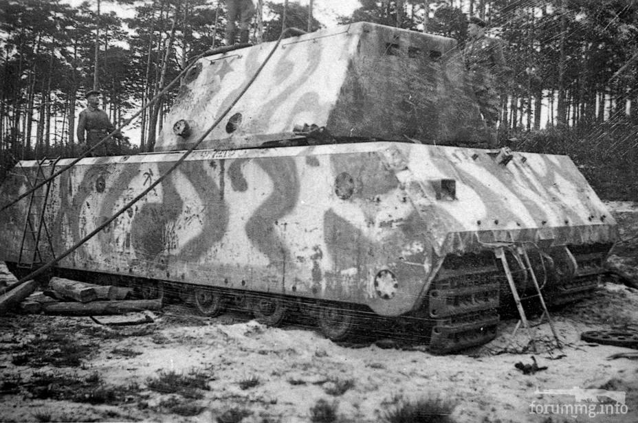 133454 - Немецкий сверхтяжёлый танк Pz.Kpfw.Maus