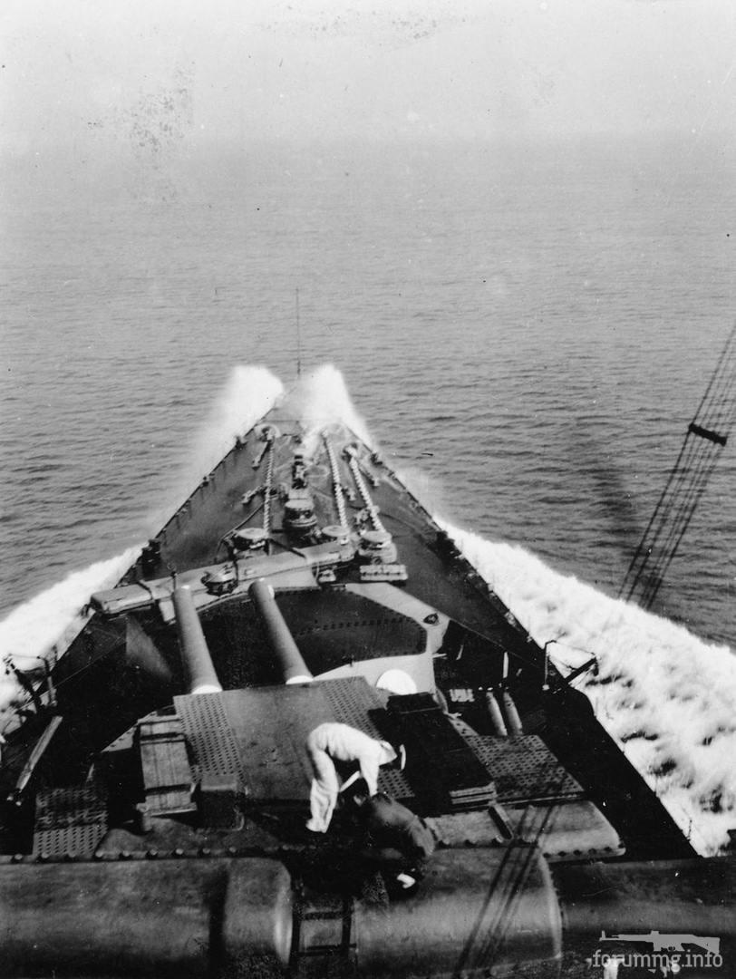 133726 - Вид на бак линейного крейсера HMS Hood