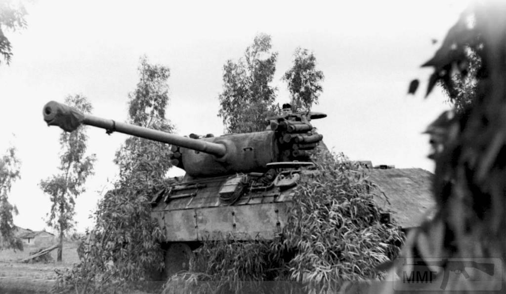 13396 - Pz.Kpfw. V «Panther» Ausf A в Италии.