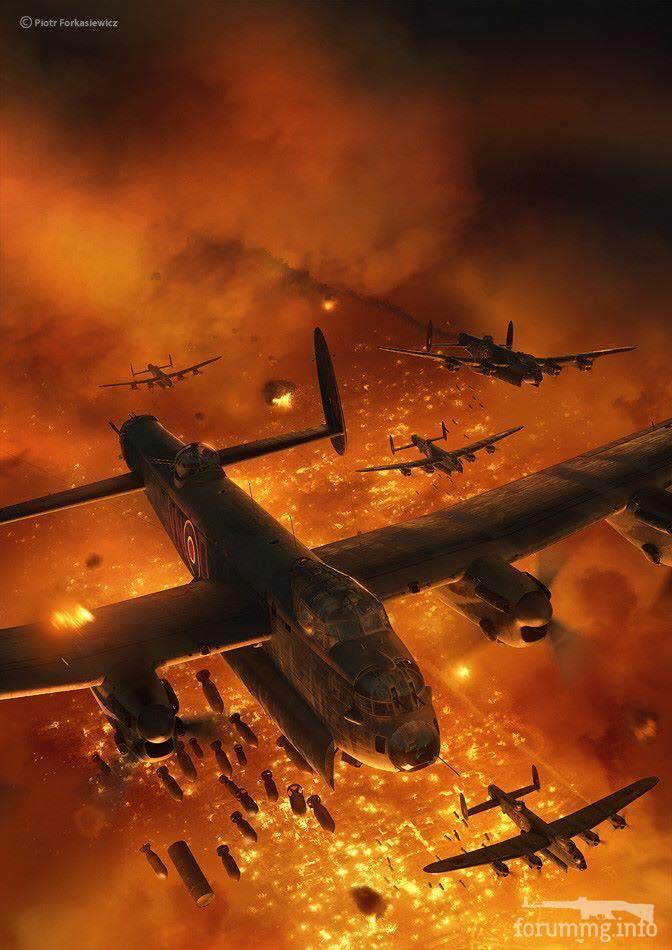 134141 - Художественные картины на авиационную тематику