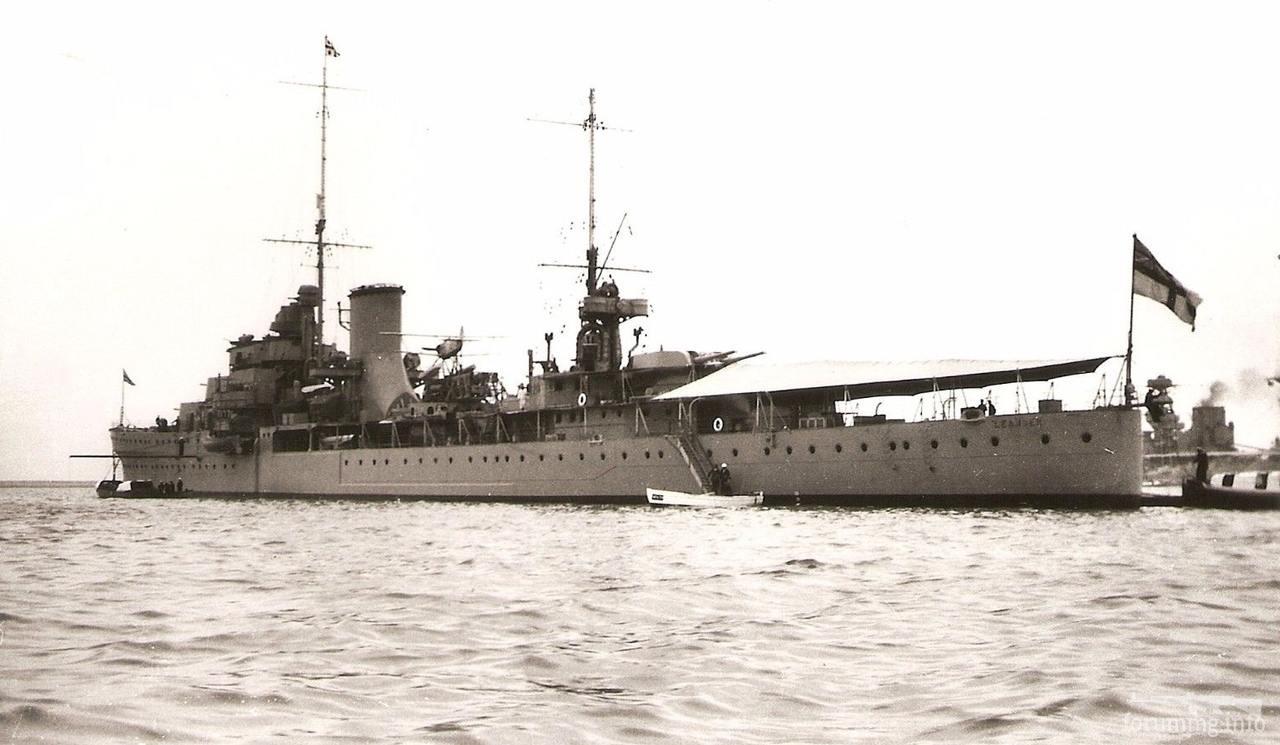 134248 - Легкий крейсер HMS Leander, 1935 г.