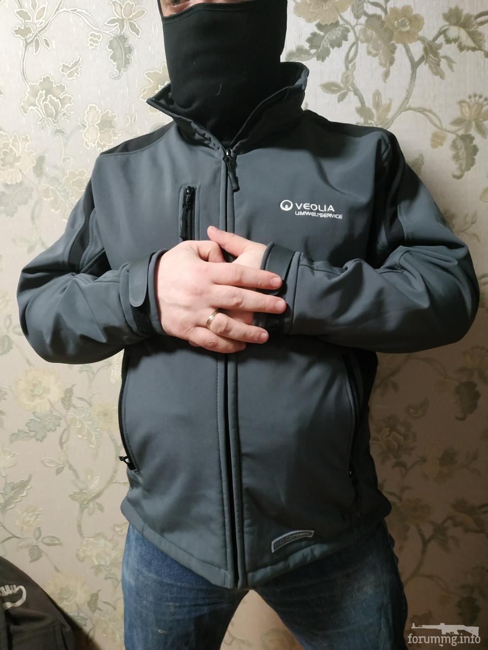 134327 - SoftShell куртка темно сірого кольору