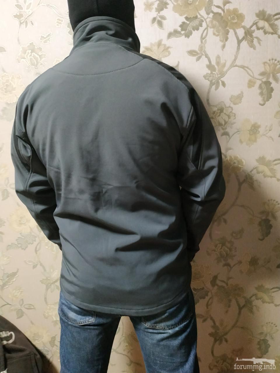 134329 - SoftShell куртка темно сірого кольору