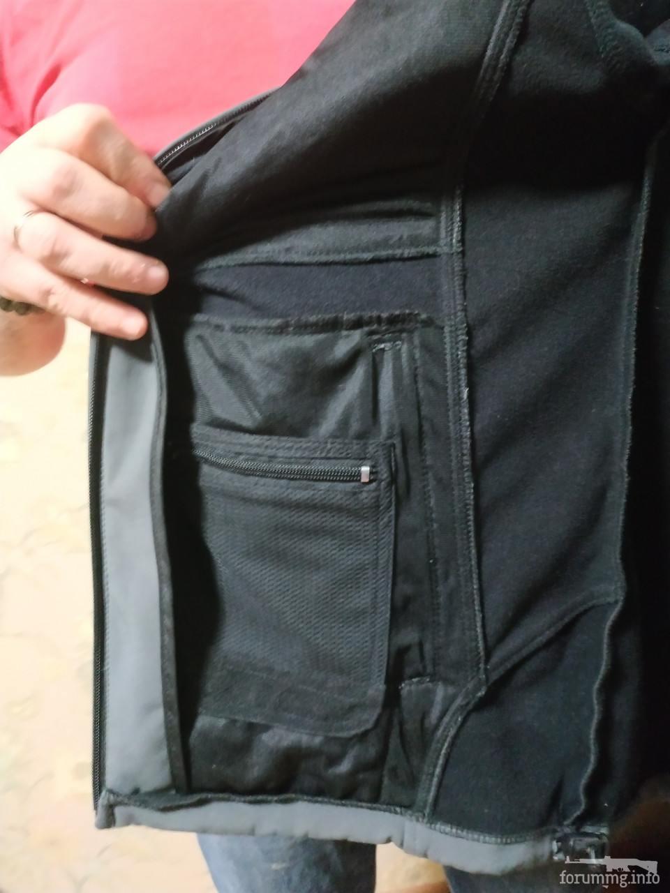 134331 - SoftShell куртка темно сірого кольору