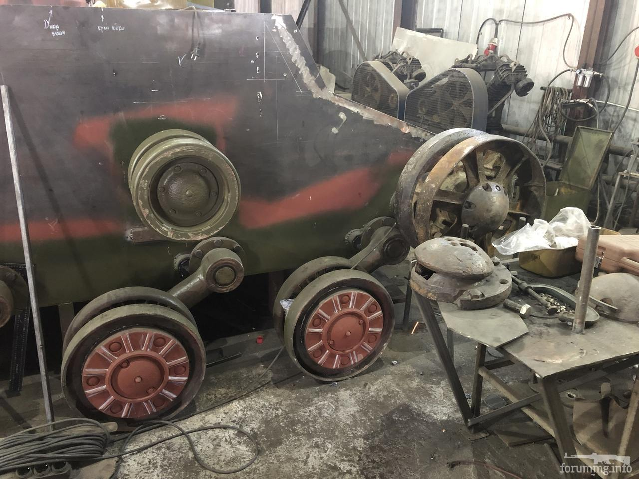 134384 - Деревянный танк