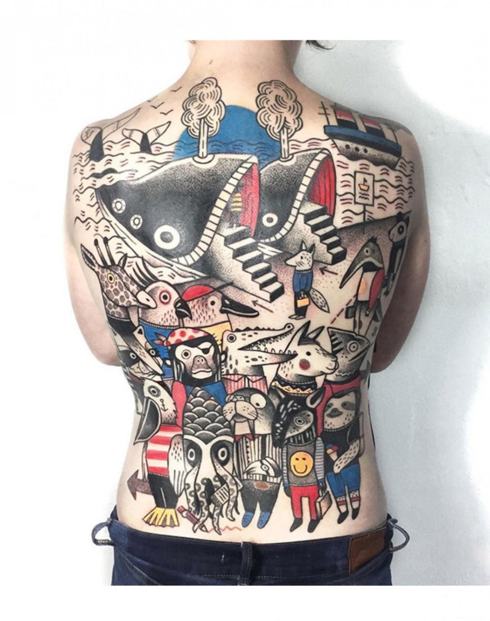 134817 - Татуировки