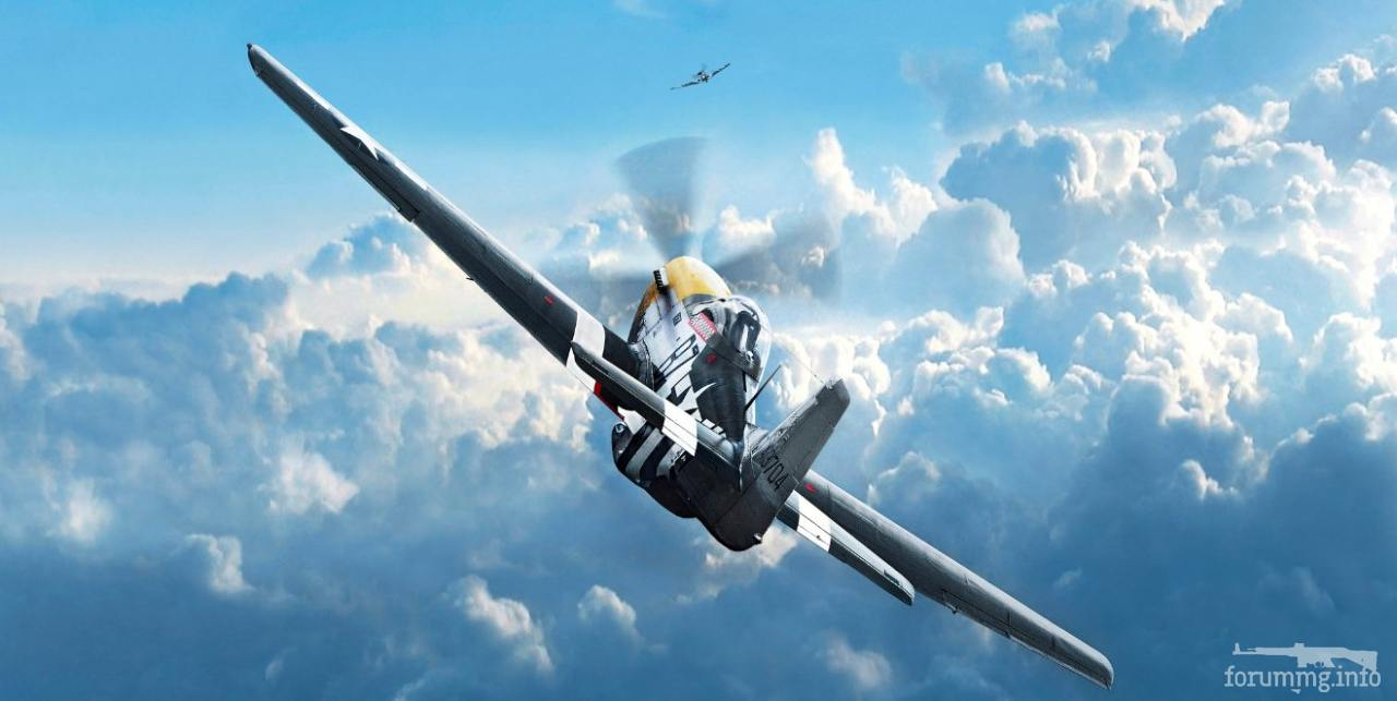 134955 - Художественные картины на авиационную тематику