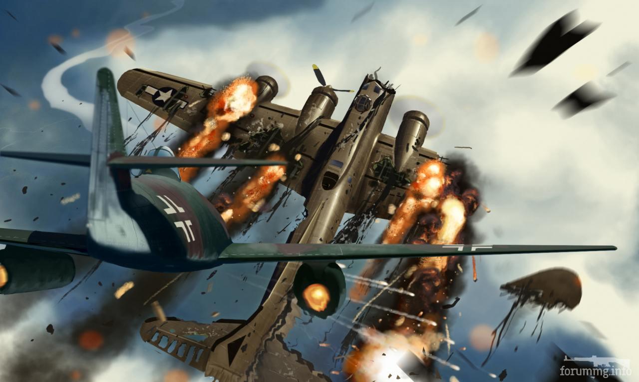 135498 - Художественные картины на авиационную тематику