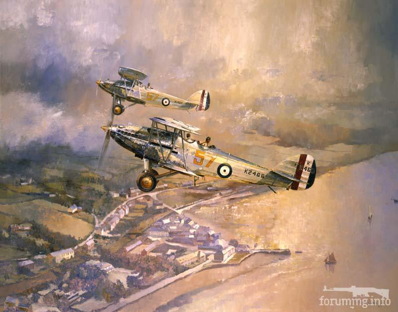 135911 - Художественные картины на авиационную тематику