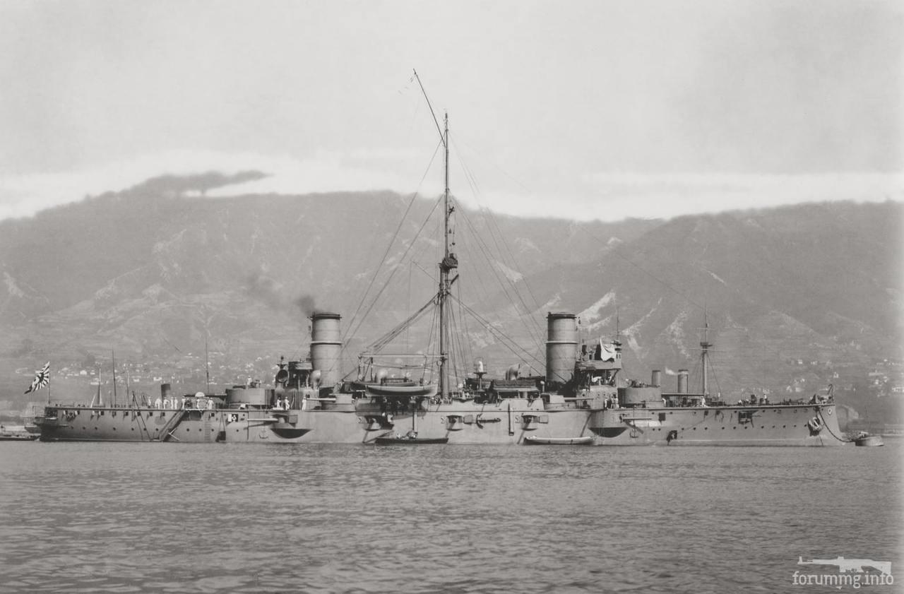 136002 - Броненосный крейсер IJN Nisshin