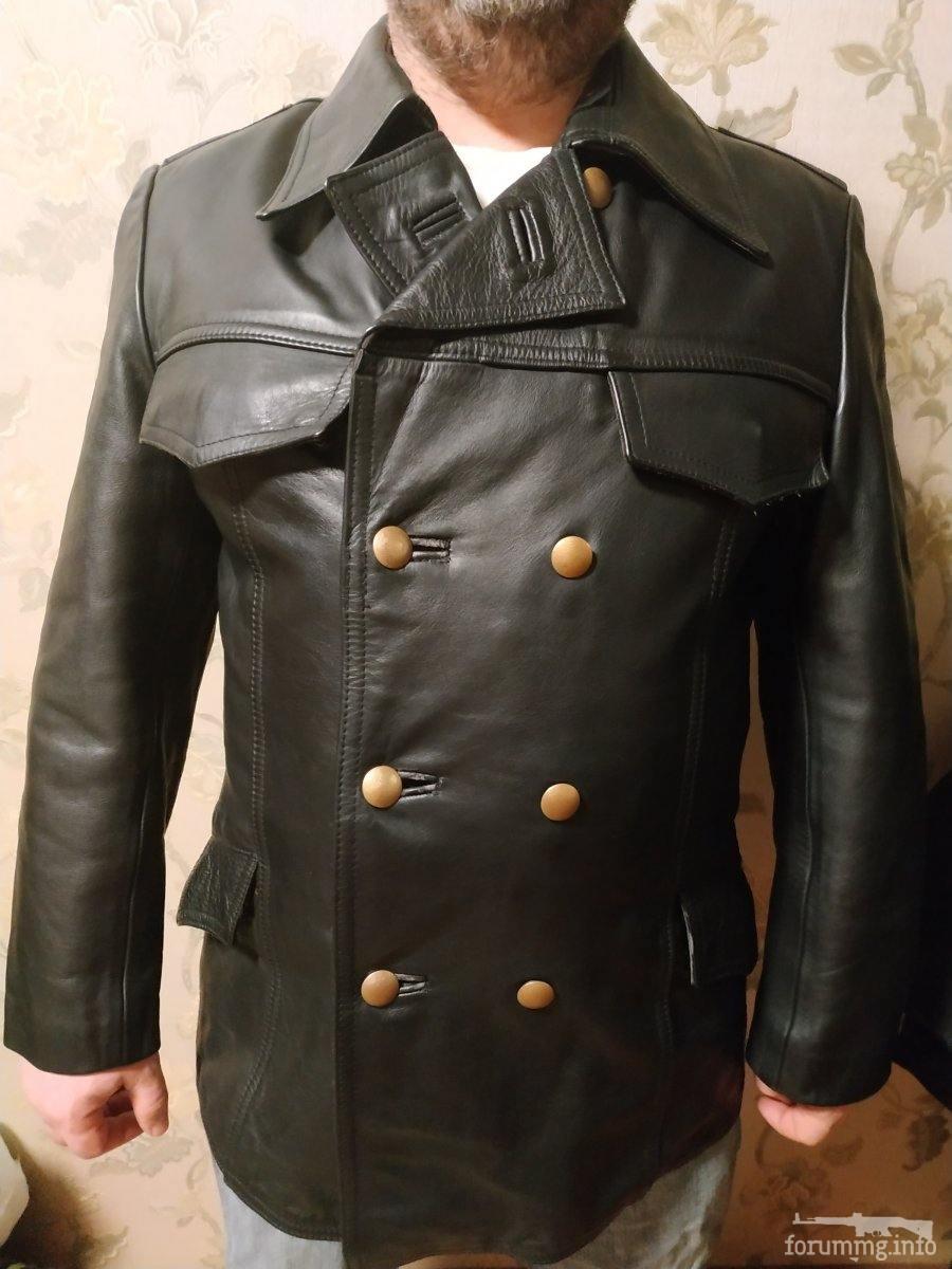 136229 - Шкіряна куртка/бушлат поліції Німечини