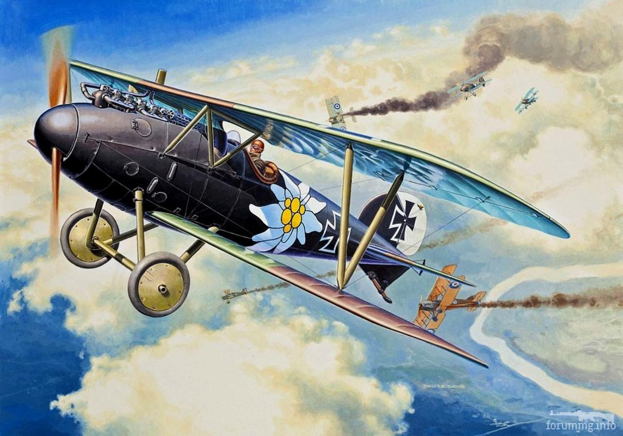 136380 - Художественные картины на авиационную тематику