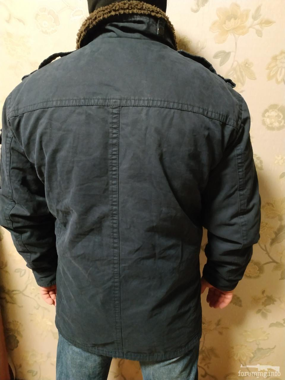136426 - Тепла куртка в мілітарі стилі