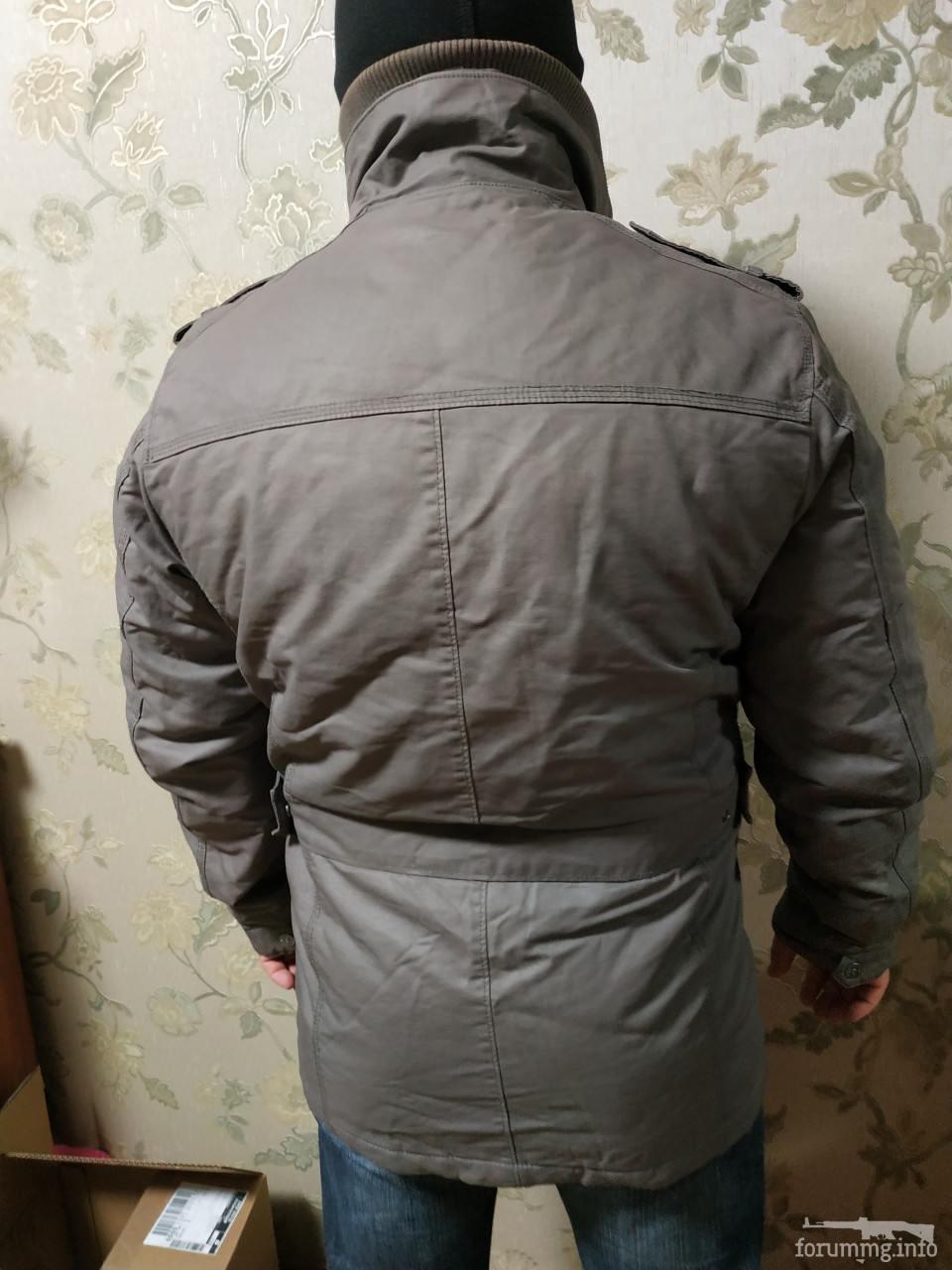 136433 - Тепла куртка в мілітарі стилі