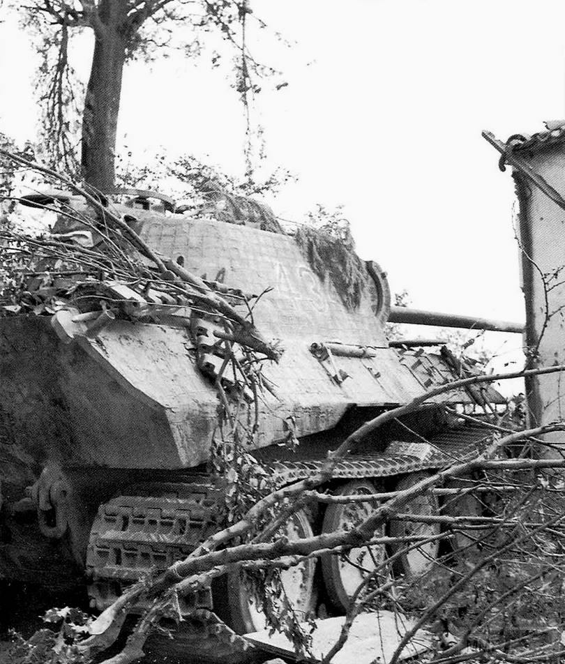 "13648 - Pz.Kpfw.V ""Panther"" Ausf A (№434), Италия, 14 сентября 1944 г."